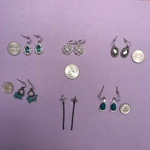 Avon Fashion Jewelry: Six Sets of Earrings